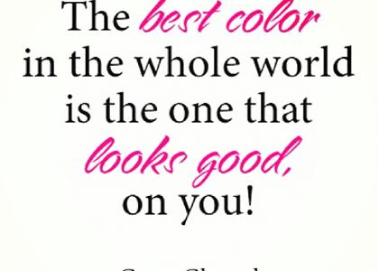 自分に似合う色