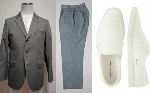 (2016SS Uniqlo and Lemaire) の洋服のデザインと靴のデザインの相性について