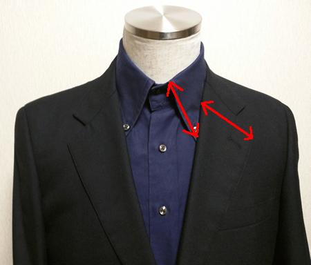 シャツの襟とジャケットのラペルの相性(2)