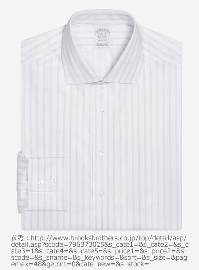 「ブルックス ブラザーズ(BROOKS BROTHERS)」のスプレッドカラーシャツ
