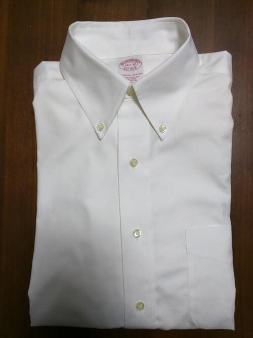 ブルックスブラザーズのボタンダウンシャツ( Brooks Brothers button-down shirt)_1